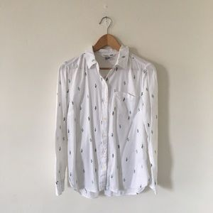 Old Navy The Classic Shirt in Cactus Print